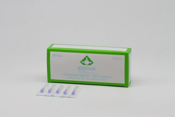 Micro-Injektions, Nadeln 30G/0,30x13mm (größerer Innendurchmesser), 100Stk.